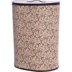 Корзина для белья с крышкой, 30*40*55 см, CLASSIC, Valiant