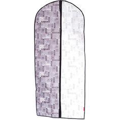 Чехол для одежды, большой, 60*137*10 см, JAPANESE BLACK, Valiant