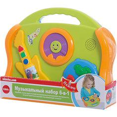 """Развивающая игрушка """"Музыкальные инструменты"""" 6 в 1, Kiddieland"""