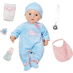 Многофункциональная кукла-мальчик , 46 см, Baby Annabell Zapf Creation