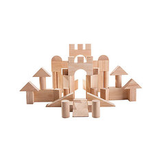 Конструктор, 50 деталей, Plan Toys