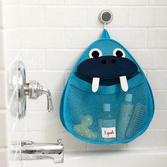 Органайзер для ванной Морж (Blue Walrus), 3 Sprouts