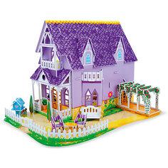 "3D пазл ""Пурпурный домик для куклы"", Melissa & Doug"
