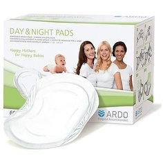 Одноразовые прокладки для бюстгальтера DAY & NIGHT PADS, ARDO, 60 шт