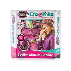 Набор для вязания Cra-z-knitz - Стильная шапка-колпак Spin Master