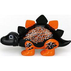 Динозавр Skye, черный с оранжевыми лапами, DigiBirds Silverlit