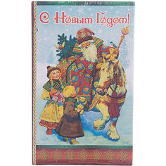 "Декоративная шкатулка ""Дед Мороз и дети""(17*11*5см, из МДФ) Феникс Презент"