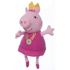 """Мягкая игрушка """"Пеппа-принцесса"""", 20 см, Peppa Pig Росмэн"""