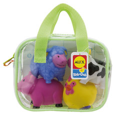 """Игрушки для ванной """"Ферма"""" Alex"""