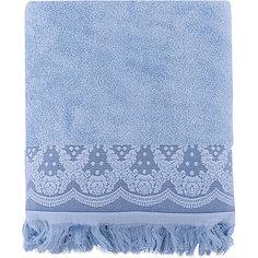 Полотенце махровое 70*140 Белладжио, Cozy Home, голубой