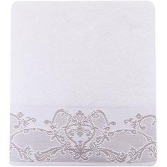 Полотенце махровое 70*140 Лукреция, Cozy Home, белый