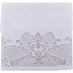 Полотенце махровое 50*90 Лукреция, Cozy Home, белый