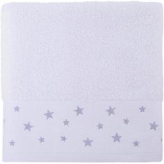 Полотенце махровое 50*90 Звездопад, Cozy Home, белый
