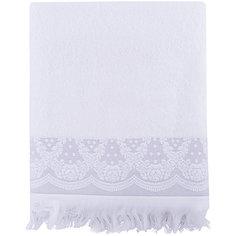 Полотенце махровое 70*140 Белладжио, Cozy Home, белый