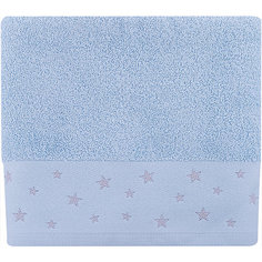 Полотенце махровое 50*90 Звездопад, Cozy Home, голубой