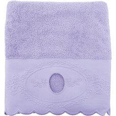 Полотенце махровое 70*140 Жаклин, Cozy Home, лиловый