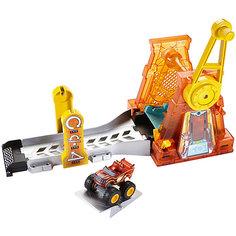 """Игровой набор """"Гиперпетля"""", Fisher Price, Вспыш и чудо-машинки Mattel"""