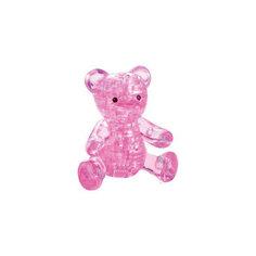 """Кристаллический пазл 3D """"Розовый мишка"""", Crystal Puzzle"""