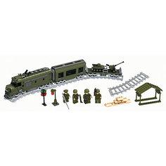 Железная дорога Конструктор Военный эшелон, Голубая стрела
