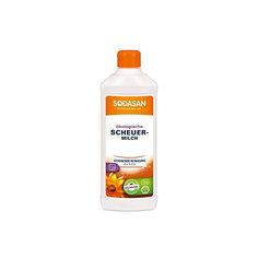Крем очищающий для стеклокерамики и других деликатных поверхностей 500мл, Sodasan