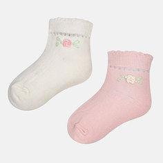 Носки (2 пары) для девочки Mayoral