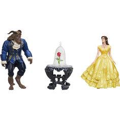 """Набор мини-кукол """"Бэлль, Чудовище и роза"""", Принцессы Дисней Hasbro"""