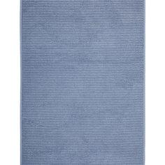 Полотенце для ног махровое Maison Bambu, 50*70, TAC, синий (k.mavi)