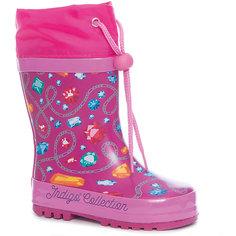 Резиновые сапоги для девочки Indigo kids