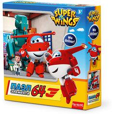 """Пазл """"Полет в Данию"""", Super Wings, Origami"""