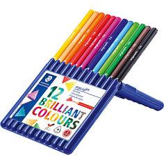 Карандаши цветные Ergosoft трехгранные, 12 цветов Staedtler
