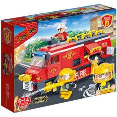 Конструктор Пожарная машина, 288 дет., BanBao