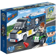Конструктор Полицейская машина, 325 дет., BanBao