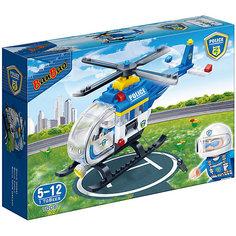 Конструктор Полицейский вертолет, 122 дет., BanBao