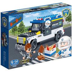Конструктор Полицейская машина, 242 дет., BanBao