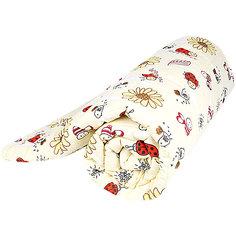 Одеяло стеганное Божья коровка, файбер 300, 105х140 , Baby Nice, желтый