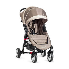 Прогулочная коляска Baby Jogger City Mini Single 4Wheel, песочно-серый