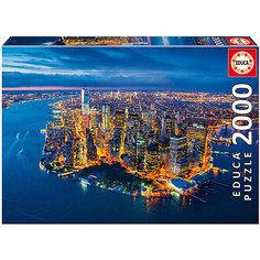 """Пазл """"Нью-Йорк с высоты птичьего полета"""", 2000 деталей, Educa"""