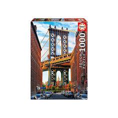 "Пазл ""Манхэттенский мост, Нью-Йорк"", 1000 деталей, Educa"