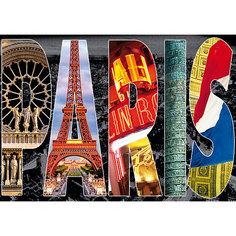 """Пазл """"Париж, коллаж"""", 1000 деталей, Educa"""