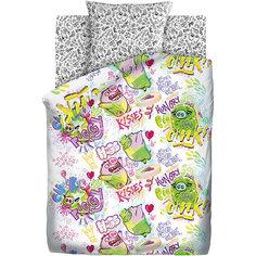 """Детское постельное белье 1,5 сп. Непоседа, """"Angry Birds"""" Плохие свинки"""