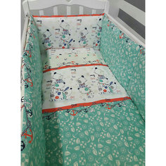 Комплект в кроватку 6 предметов By Twinz, Веселый щенок