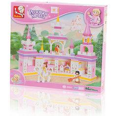 """Конструктор """"Розовая мечта: Утро принцессы"""", 385 деталей, Sluban"""