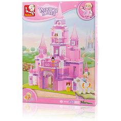 """Конструктор """"Розовая мечта: Дворец принцессы"""", 472 детали, Sluban"""