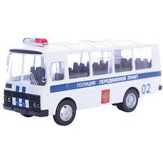 """Машинка """"ПАЗ-32053"""" полиция 1:43, Autotime"""