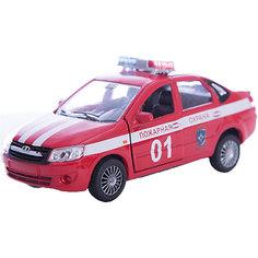 """Машинка """"Lada Granta"""" пожарная охрана 1:36, Autotime"""