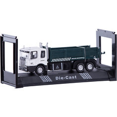 """Машинка """"Transport Dump Truck"""" бортовая 1:48, Autotime"""