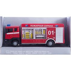 "Машинка ""Scania"" пожарная спецбригада 1:48, Autotime"