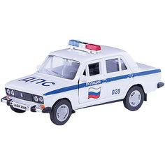 """Машинка """"Lada 2106"""" полиция 1:36, Autotime"""