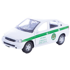 "Машинка ""Lada Kalina"" судебные приставы 1:34, Autotime"