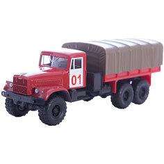 "Машинка ""KRAZ-255B"" пожарная охрана, Autotime"